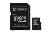 Карта памяти MicroSDHC 8Gb Kingston C4 + SD адаптер SDC4/8GB
