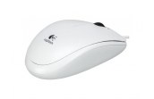 Мышь Logitech B100 Optical White USB